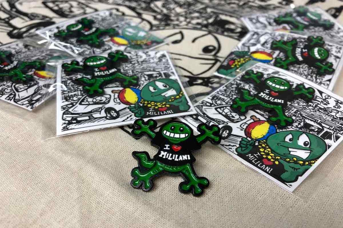 50th Anniversary Gecko Pins